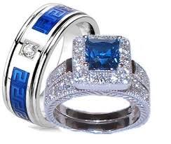 blue steel rings images Inspirational wedding bands belladeux events jpg
