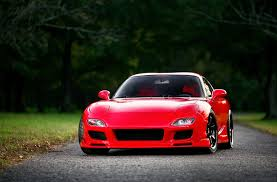 mazda automobile photos mazda rx 7 red front automobile