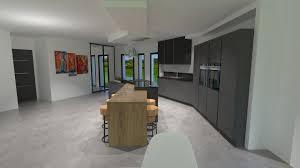cuisine bois gris moderne cuisine bois gris moderne idées de design suezl com