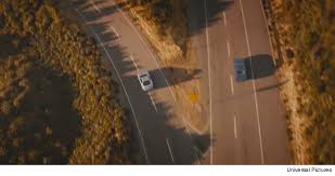 Meme Generator Two Pictures - two roads and two cars divided final scene fast and furios 7 blank