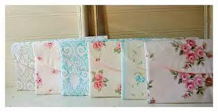shabby chic clutch purse set 6 bridesmaid gift bridesmaid clutch