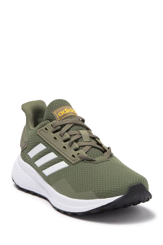 Adidas Boys Duramo 9 Shoes Green 3.5