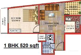 520 Sq Ft 1000 Sq Ft 2 Bhk 2t Apartment For Sale In Arsh Group Green Heights