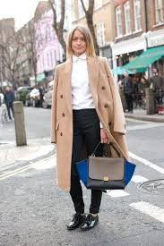 10 ways to wear a camel coat lauren messiah