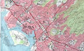 Honolulu Airport Map Honolulu Harbor Hawaii Topographic Tourist Map Honolulu Hi U2022 Mappery