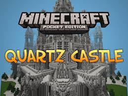 Mpce Maps Epic Quartz Castle Map Minecraft Pocket Edition Youtube