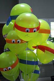 Halloween Birthday Balloons by Best 25 Ninja Turtle Balloons Ideas On Pinterest Ninja Turtle