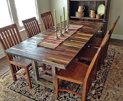 dining room reclaimed wood dining room table on dining room with