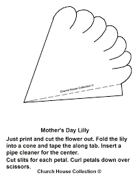 mother u0027s day lily craft