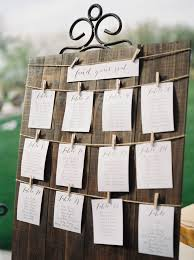 trilogy at vistancia wedding a wooden guest seating chart with
