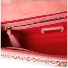 christian louboutin pink patent leather riviera clutch