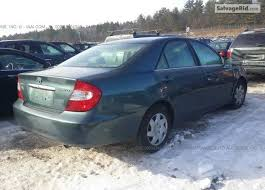 toyota camry green color s o l d tin can cleared 2002 toyota camry le green color autos