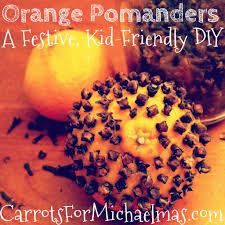 orange pomanders a festive kid friendly diy