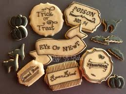 Antiqued Label Cookie With Lizy B Bakes U2013 The Sweet Adventures Of