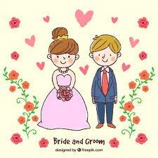 dessin mariage dessin d un sur leur mariage télécharger des vecteurs