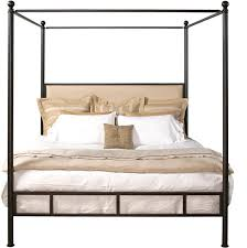 Iron Canopy Bed Biscayne Modern Iron Canopy Bed Custom Furniture World