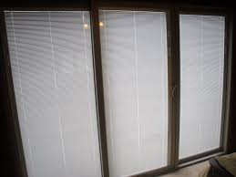 Interior Doors With Blinds Between Glass Sliding Glass Doors With Blinds Decofurnish