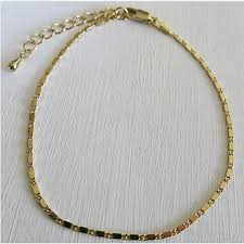 ladies gold chain bracelet images 2018 fashion women ladys girl gold foot anklet simple jewelry gold jpg