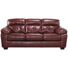 Benchcraft Furniture Furniture Best Red Cherry Leather Benchcraft Furniture Sofa Decor