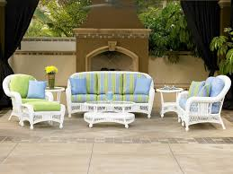 North Cape Wicker Outdoor Patio Furniture  Oasis Pools Plus Of - Outdoor white wicker furniture