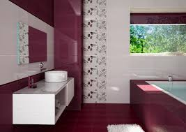 Stunning Mozaic Tiled Wall Bathroom Modern Bathroom Wall Tile Designs Ideas With Pictures Entrancing
