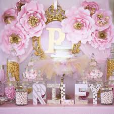 baby shower table decoration awesome pink and gold baby shower table decorations decorating