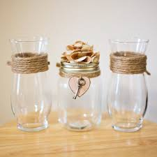 Heart Shaped Sand Ceremony Vase Set Rustic U0027key To My Heart U0027 Mason Jar Unity Sand Ceremony Vase Set
