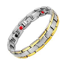 germanium health bracelet images 4 bio elements titanium magnetic therapy health bracelet negative jpg