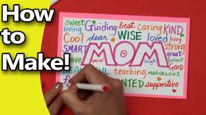 Diy Mother S Day Card by How To Make A Mothers Day Card For Mom 2016 Edition Diy For Kids