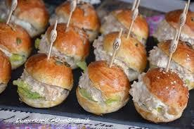 recette cuisine chignon mini burger froid au thon le sucré salé d oum souhaib
