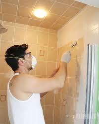 Yellow Tile Bathroom Paint Colors by Gorgeous 80 Painting Bathroom Tile Pinterest Decorating Design Of