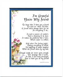 amazon com i u0027m grateful you u0027re my friend 151 gift poem 30th