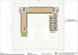 Multiplex Floor Plans Plan Galaxy Diamond Plaza
