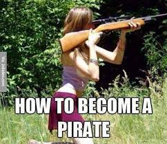 Pirate Meme - how to become a pirate meme