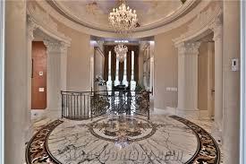 marble waterjet medallion floor medallion polished flooring