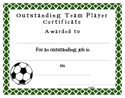 certificate award template color lined paper
