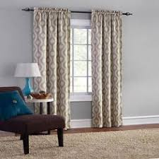 Walmart Mainstays Curtains Mainstays Thermal Print Woven Curtain Panels Set Of 2 Multiple