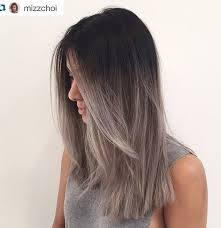 putting silver on brown hair 40 glamorous ash blonde and silver ombre hairstyles