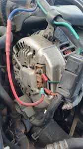 dodge cummins alternator alternator wiring dodge cummins diesel forum