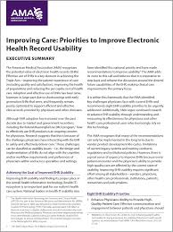 Improving Care Priorities To Improve Electronic Health Record