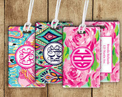 themed luggage tags luggage tags etsy