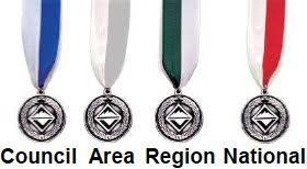 Arrow Of Light Patch Boy Scout Square Knot Awards