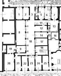 roman insula floor plan regio i insula ii caseggiato del termopolio i ii 5