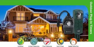 Intermatic 15 Amp Plug In by Intermatic Heavy Duty 15 Amp 2 Outlet Outdoor Timer Pool Pump