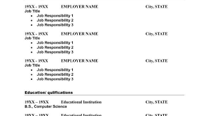 Download Resume Maker Free Resume Maker And Download Resume Template And Professional