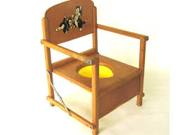 Potty Chairs Antique Childrens Wooden Potty Chair 1900s Carved Wood Ebay