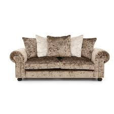 3 Seat Recliner Sofa by Laurence Llewelyn Bowen Scarpa 3 Seater Fabric Sofa Furnico Village