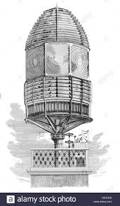 dioptric revolving light house lantern with fresnel lens by