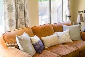 diy dip dye throw pillow u2013 seagrain design