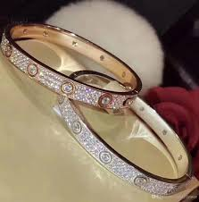 diamond bracelet cuff images 2018 new luxury aaa cz diamond bracelet 925 sterling silver cuff jpg